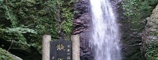 龍王の滝 is one of 日本の滝百選.