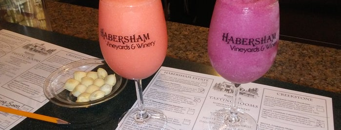 Habersham Winery is one of Things to See.