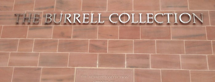 Burrell Collection is one of Glasgow I was there.