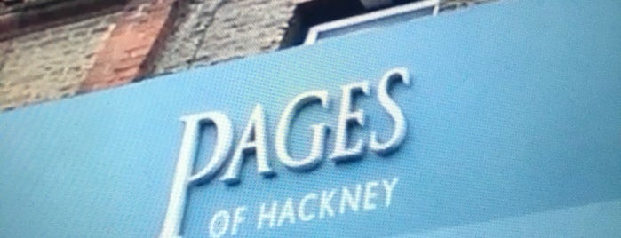 Pages of Hackney is one of Guardian Recommended Independent Bookshops.