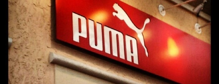 The PUMA Outlet is one of Argentina/Uruguay - Julho 2012.