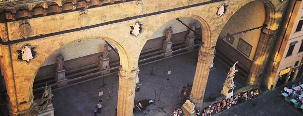 Loggia dei Lanzi is one of The 15 Best Places for Galleries in Florence.