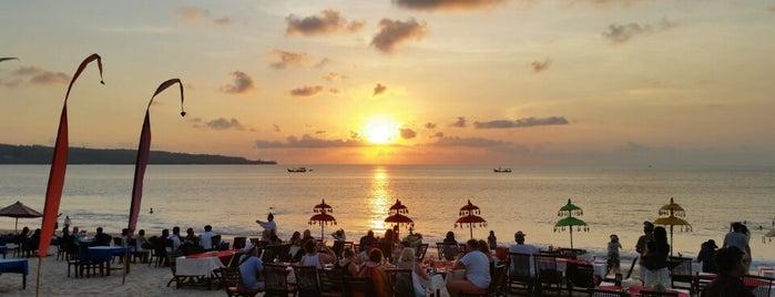 Jimbaran Beach (Pantai Kedonganan) is one of Beautiful Beaches in Bali.