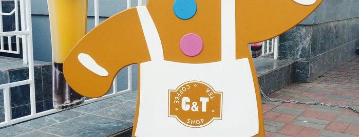 Coffee & Tea (C&T) is one of Кофейни.