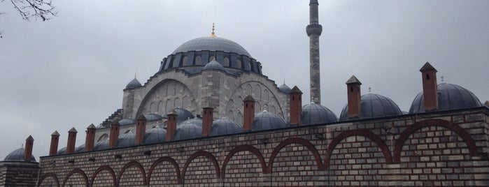 Edirnekapı Mihrimah-Sultan-Moschee is one of İstanbul'daki Mimar Sinan Eserleri.
