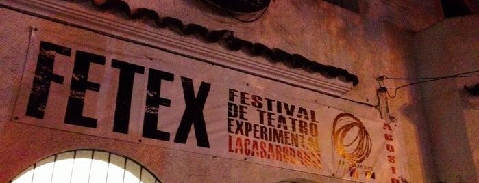 La Casa Rodante. Centro Experimental de Arte. is one of south american spots.