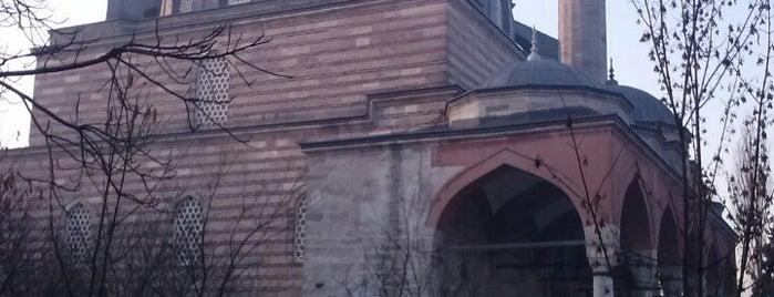 Hadım İbrahim Paşa Camii is one of İstanbul'daki Mimar Sinan Eserleri.