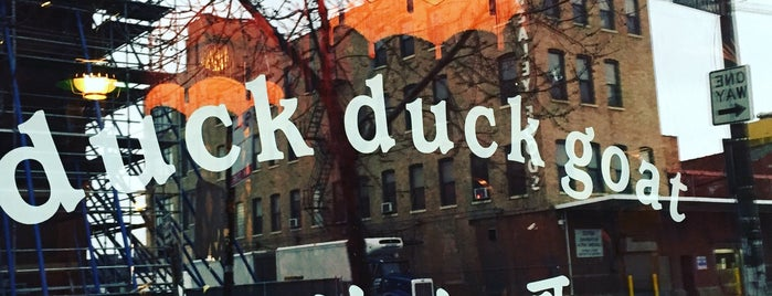Duck Duck Goat is one of Chicago.