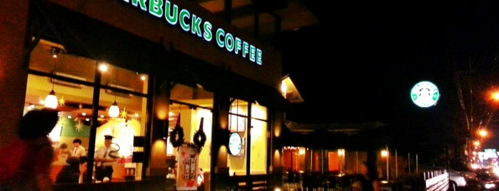 Starbucks Coffee is one of cafe.