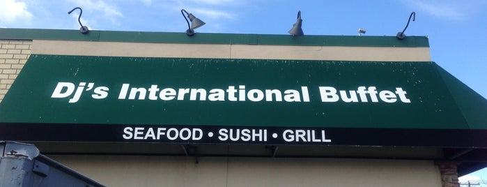 DJ's International Buffet is one of Restaurants.