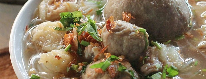 Bakso Agung is one of All-time favorites in Indonesia.