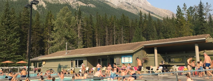 Miette Hot Springs is one of Favorite Great Outdoors (Canadian West Coast).