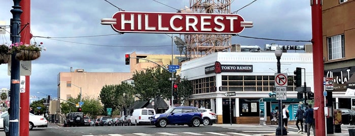 Hillcrest is one of San Diego.