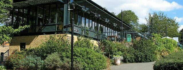 Golders Hill Park Refreshment house is one of My favourite places.