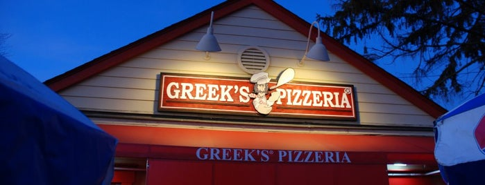 Greek's Pizzeria is one of Top 10 dinner spots in Fishers, IN.