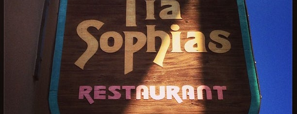 Tia Sophia's is one of Santa Fe.