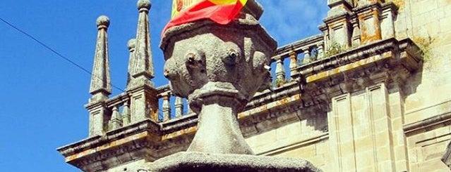 Praza Maior de Celanova is one of Best of Ourense ❤.