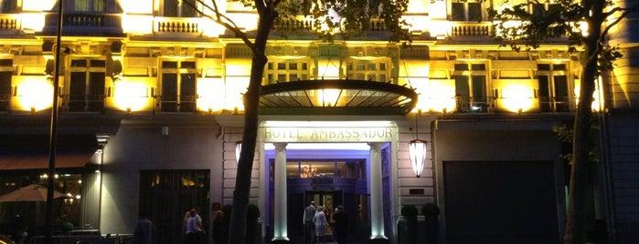 Paris Marriott Opera Ambassador Hotel is one of Hoteles en que he estado.