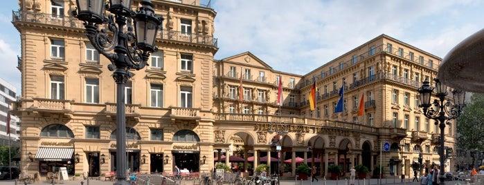 Steigenberger Frankfurter Hof is one of Hotels Deutschland.