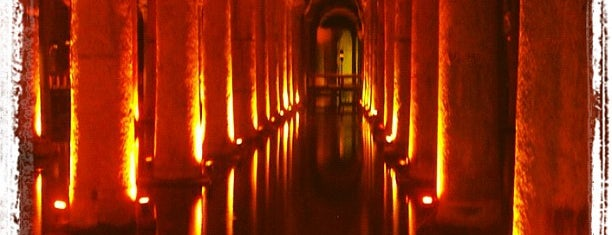 Basilica Cistern is one of Istanbul - Turkey - Peter's Fav's.