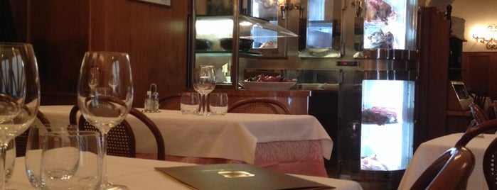 Ristorante dal Toscano is one of Roma - a must! = Peter's Fav's.