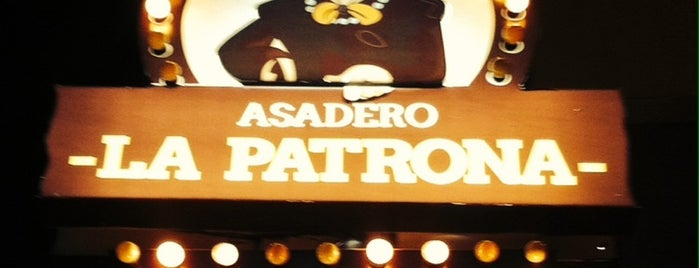 Asadero La Patrona is one of Restaurantes.