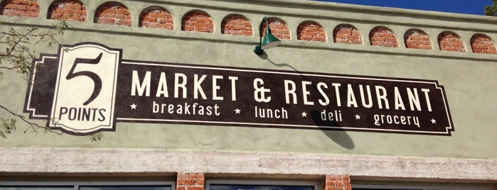 5 Points Market & Restaurant is one of The 15 Best American Restaurants in Tucson.