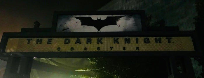 The Dark Knight is one of ROLLER COASTERS.