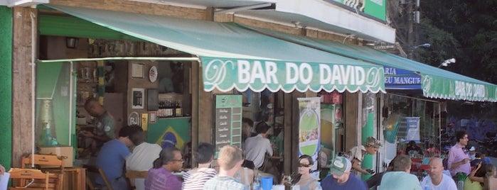 Bar do David is one of Rio eatMe.