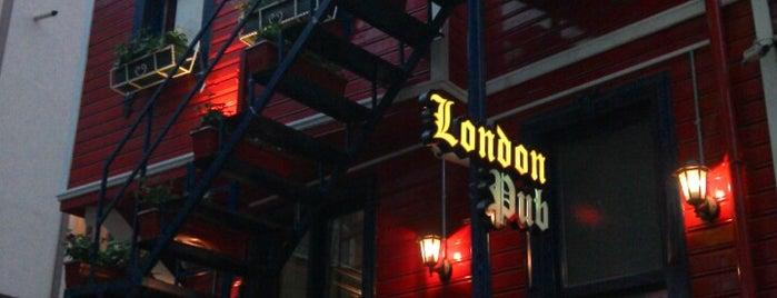 London Pub is one of istanbulda arka sokak lezzetleri.