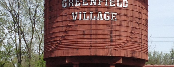 Greenfield Village is one of Fun Go-to-Spots.