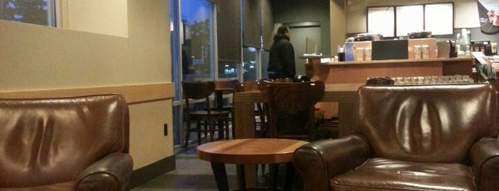 Starbucks is one of My Saved Places.