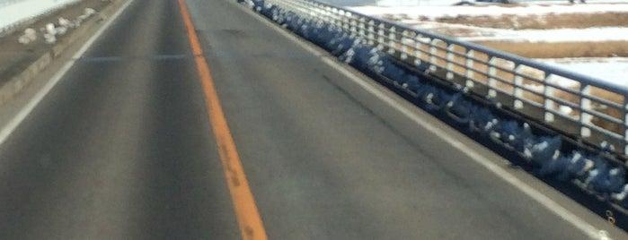 下総利根大橋 is one of サイクリング.