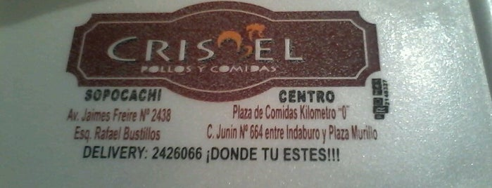Crisbel is one of Comidas.