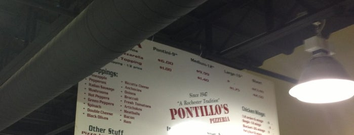 Pontillo's Pizzeria is one of Favorite Places.