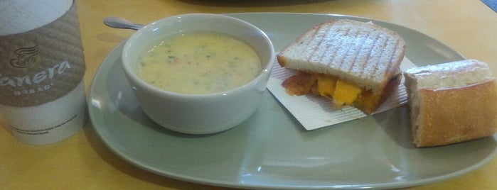 Panera Bread is one of Usual places.