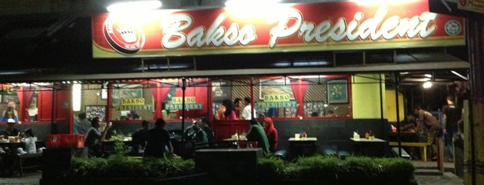 Bakso President is one of Kuliner Malang.