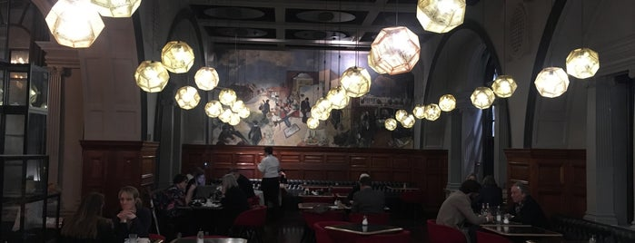 The Restaurant At Royal Academy Of Arts is one of Guardian & Observer Restaurant Reviews.