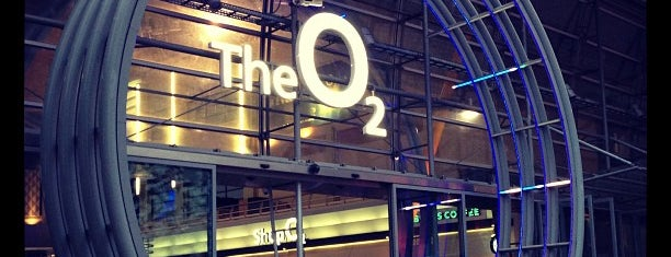 The O2 Arena is one of Life.