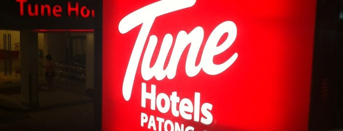Tune Hotels Patong is one of Hotel.