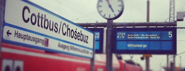 Cottbus Hauptbahnhof is one of Bahnhöfe Deutschland.