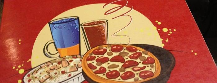 Pizza Hut is one of wisata malam jogja.