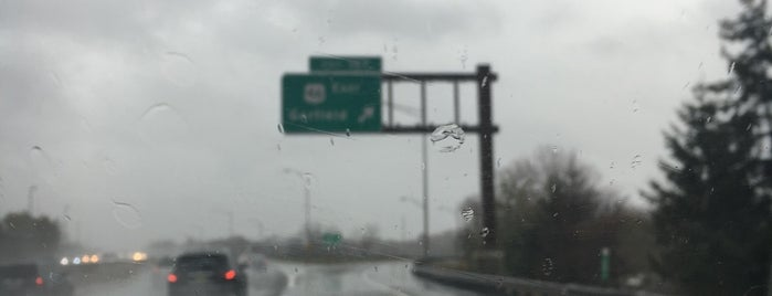 Garden State Parkway at Exit 157 is one of New Jersey highways and crossings.