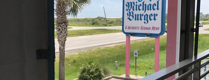 Cafe Michael Burger is one of The Best Burgers in Galveston.
