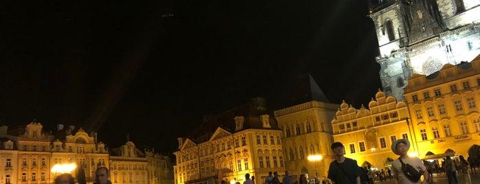 Staré Město is one of Prague.