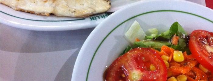 Yeşillik balık & salata is one of Restoranlar.