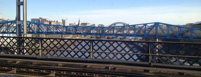 Queen Elizabeth II Bridge is one of Newcastle Upon Tyne.