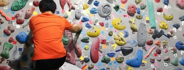 Fits climbing Gym is one of クライミングジム.