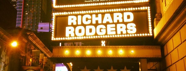 Richard Rodgers Theatre is one of I Want Somewhere: Sights To See & Things To Do.