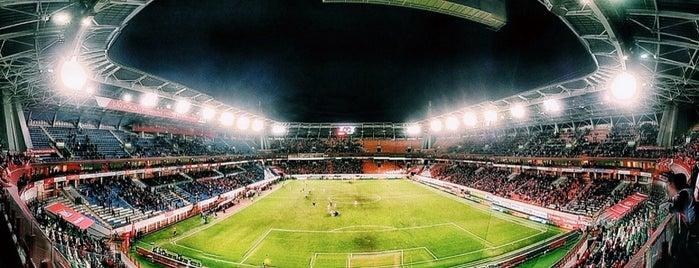 РЖД Арена is one of Сохраненные.